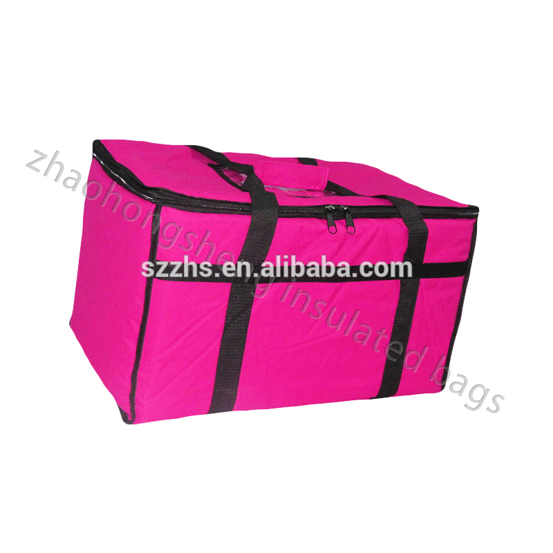 Good Wholesale Vendors Food Delivery Cooler Bag - Good quality insulated carrying thermal bag for hot food or cool drinking – Zhao Hongsheng
