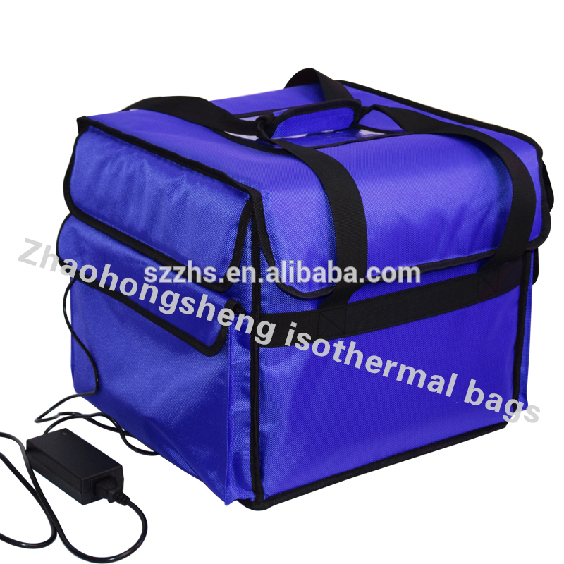 Gedhe Digawe terisolasi Thermal Food Delivery Lunch Bag