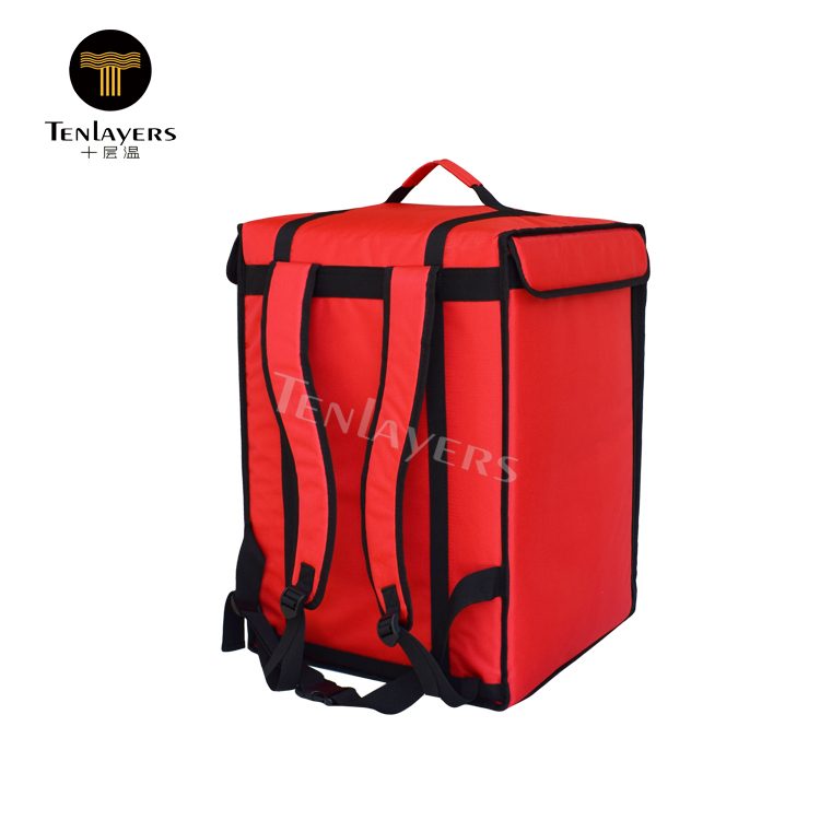 Popular insulated pizza food delivery bag lunch cooler boxes backpack