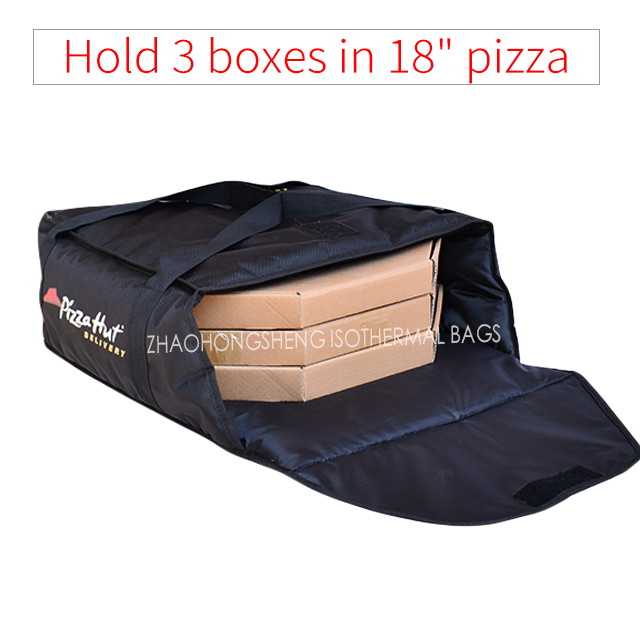 "Factory selling Cooler Bag Insulated - 18"" custom brand pizza hut delivery bag for food thermal or pizza – Zhao Hongsheng"