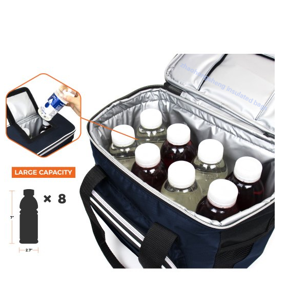 Thermal insulation food delivery picnic lunch cooler bag