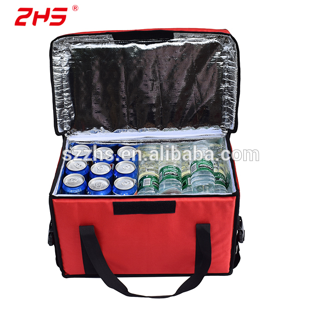 OEM China Cooler Bag With Ice Pack - Thermal Insulated tote food delivery cooler bag for drinking cans – Zhao Hongsheng