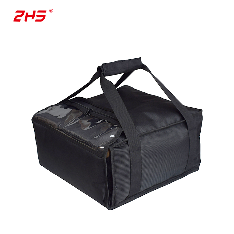 Zhs 12-14 Inch Carry Hot Food Pizza Lìbhrigeadh Bags For Sale