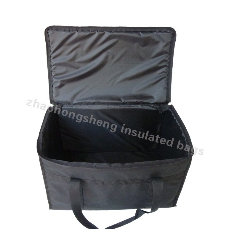 insulated large pizza thermal food delivery cooler bags carrier