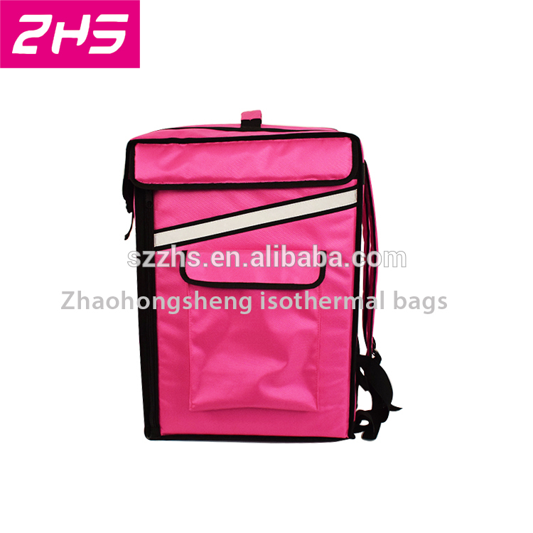 PriceList for Collapsible Insulated Cooler Bag - Portable large insulated food delivery cooler bag backpack – Zhao Hongsheng