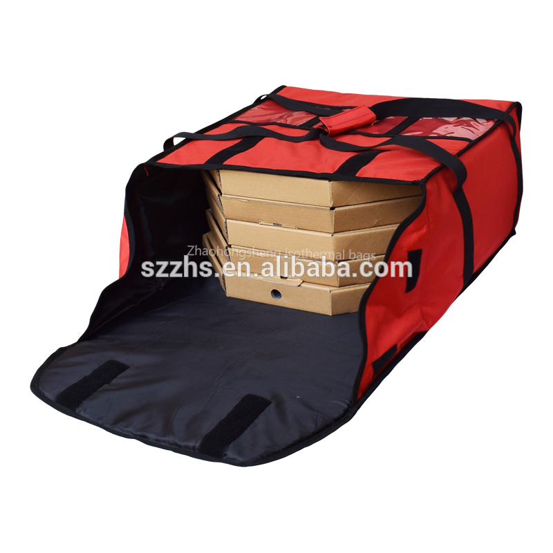 "OEM/ODM Factory 18″ Pizzas – Chaumetbag Pizza Delivery Bag - 16""–18"" fitness meal food delivery pizza bag for pizza or sesame seed cake – Zhao Hongsheng"