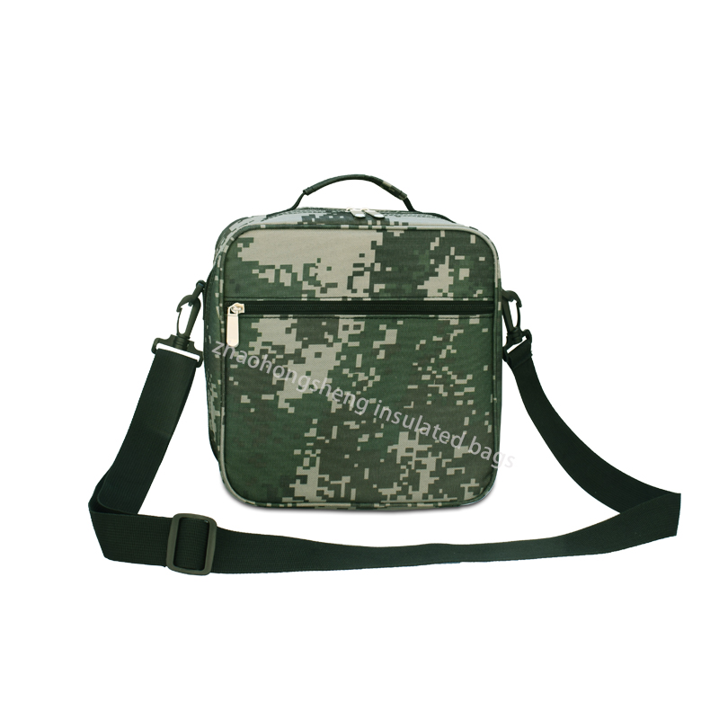 LINE Camouflage Pattern Insulated Lunch Cooler Beach Bags