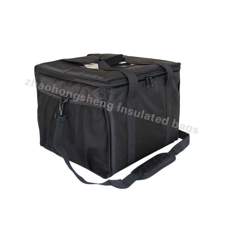 High definition Portable Wine Cooler Bag - Scooter big heated insulated food delivery can medicine lunch cooler bag – Zhao Hongsheng