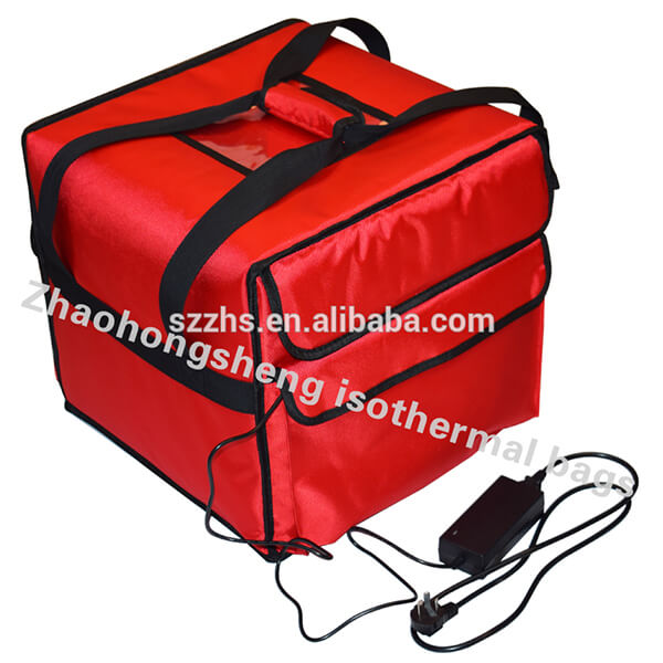 Gedhe collapsible Digawe terisolasi Food Delivery Lunch Bag