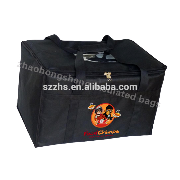 2018 Alibaba Custom Sublimation Thermal Food Delivery picnic cooler bag