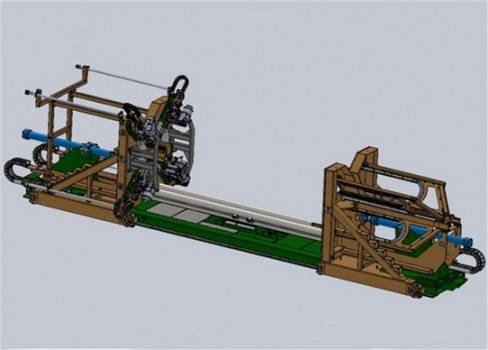 Full-automatic Steel Strip Horizontal Strapping Compactor
