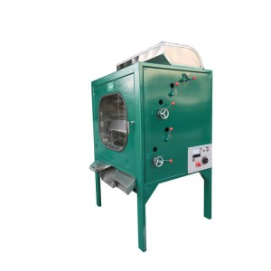 Electrostatic tea stalk sorting machine
