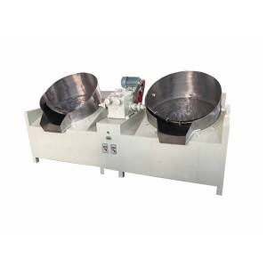 Two pan tea roaster(pearl/ball/gunpower type tea shaping machine) JY-6CCQ84