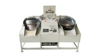 Two pan tea roaster(pearl/ball/gunpower type tea shaping machine) JY-6CCSG50