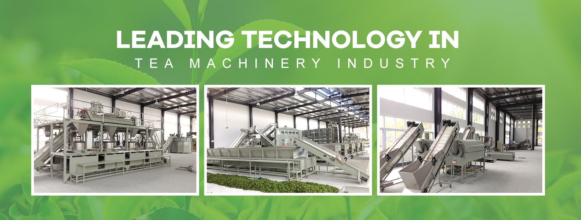 Leading technology yn tee machinery yndustry