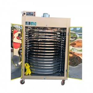 Double door tea leaf dryer