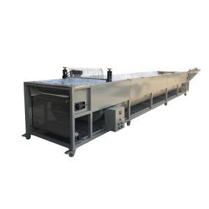 Single layer tea withering machine with automatic discharge