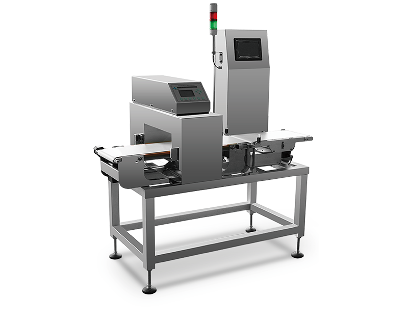 Combo Metal Detector le Checkweigher