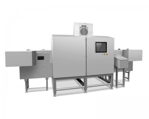 Dual-beam X-ray inspection system for cans, jars, bottles