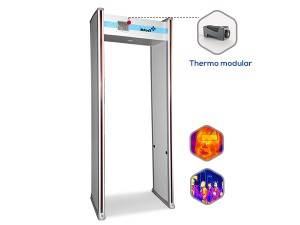 TE-SD2  Thermo Walkthrough Metal Detector