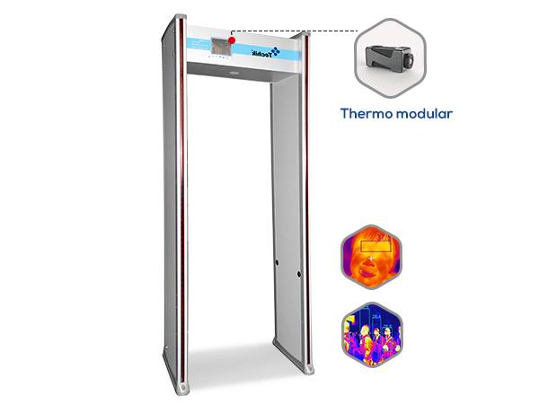 Cheapest Price Handhold Metal Detector - TE-SD2  Thermo Walkthrough Metal Detector – Techik
