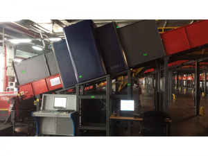 OEM Customized X-Ray Baggage Scanner Inspection System - TE-XS140100 Lifting X-ray Baggage Scanner – Techik