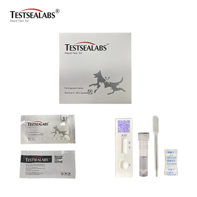 Chinese wholesale Rapid Canine Coronavirus Ag Test – African Swine Fever Virus(ASF) Rapid Test – TESTSEA