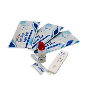 Testsea Disease Test Malaria Ab p.f/p.v Tri-line Rapid Test Kit