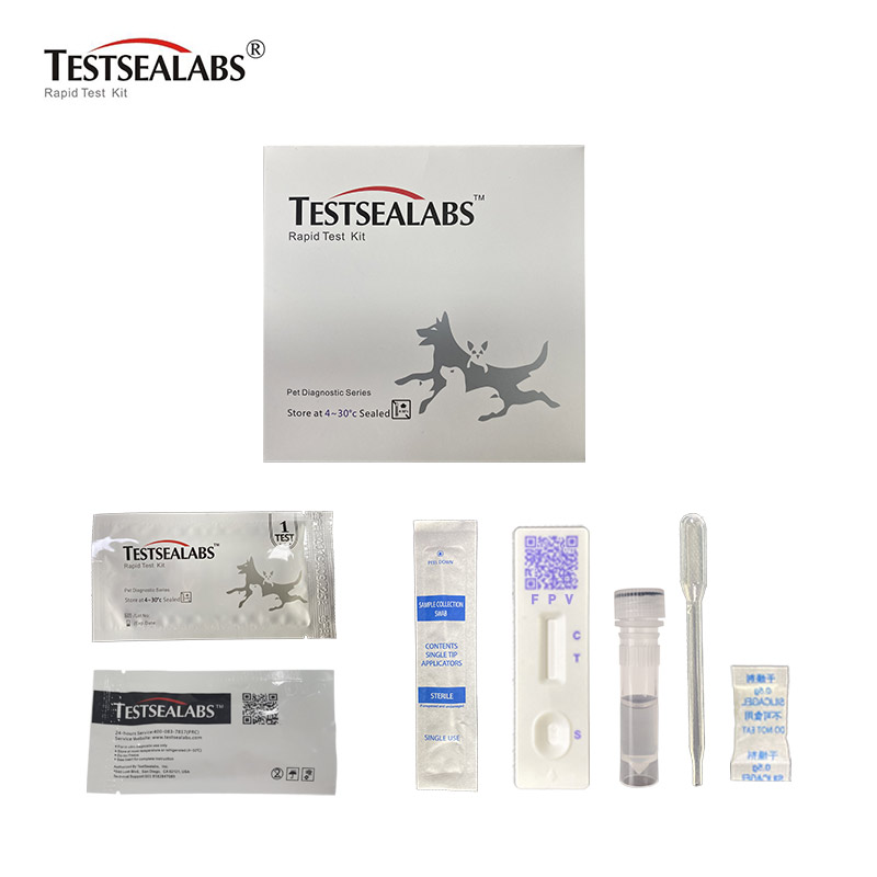 Professional China High Sensitive Feline Coronavirus Ag Test Kit -