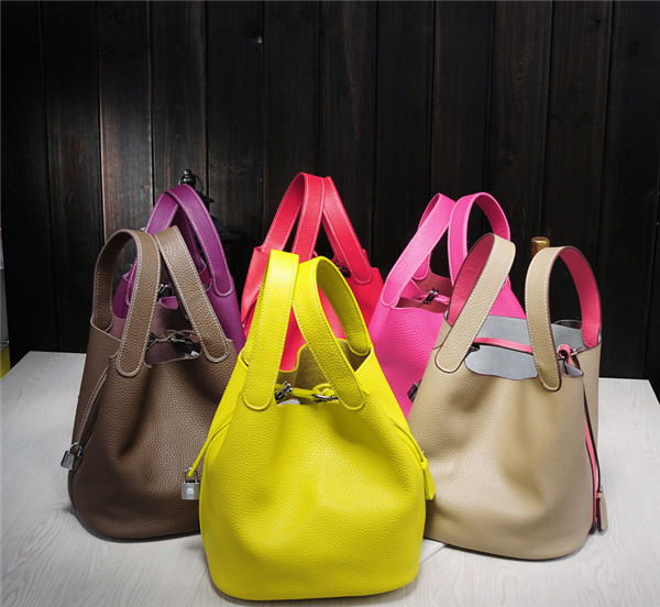 High Quality Designer Bags Women Famous Brand Name Bucket Bag Cowhide