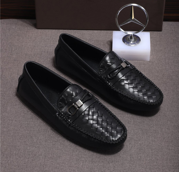 Custom Made Men Driving Shoes Customized Size Slip-On Shoes Sheepskin