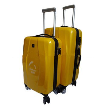 3pcs pure PC suitcase luggage with trolley