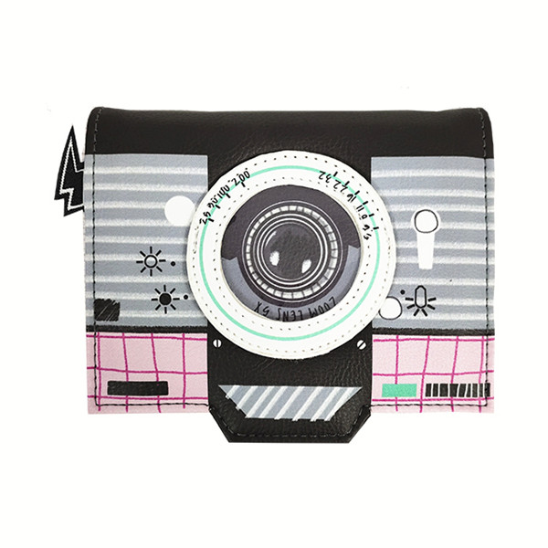 Factory direct sale fashion Camera-shaped wallet