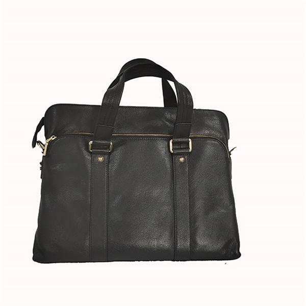 New business waterproof leather briefcase large capacity business office bags odm oem briefcase