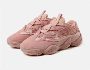 Ins Hot Style Pink Genuine Leather Comfort Sports Shoes