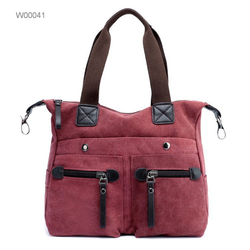woman handbag canvas daily shopping lunch bags sling bags