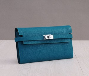 Green TOG Leather Designer Clutch Bags