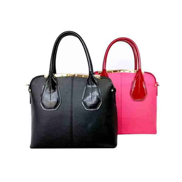 Colorful Contrast Handbag