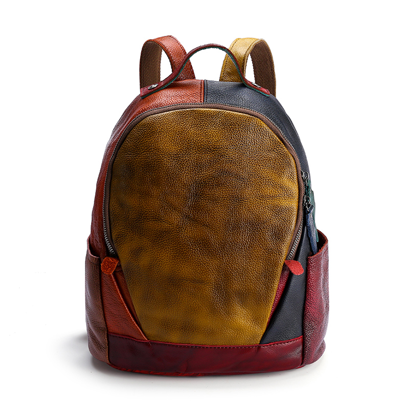 Fashion Lady Backpack. Casual leather Backpack.