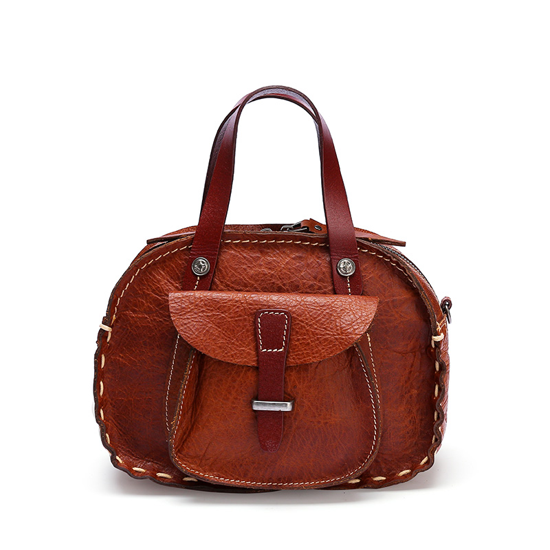 Fashion Retro Genuine Leather Lady Handbag
