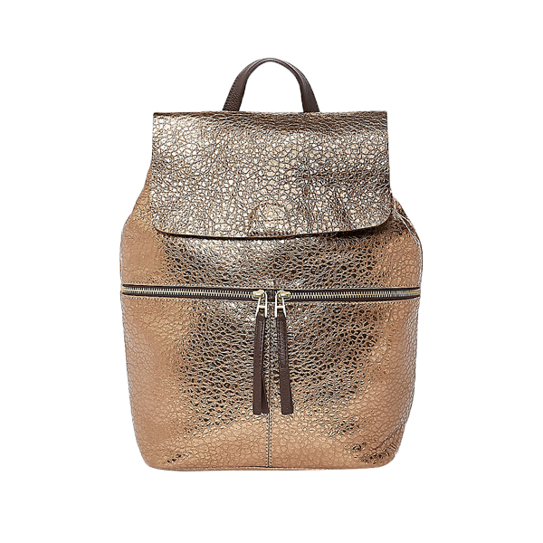 PU Metallic Backpack Bag