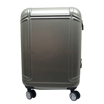 ABS spinner carry-on suitcase