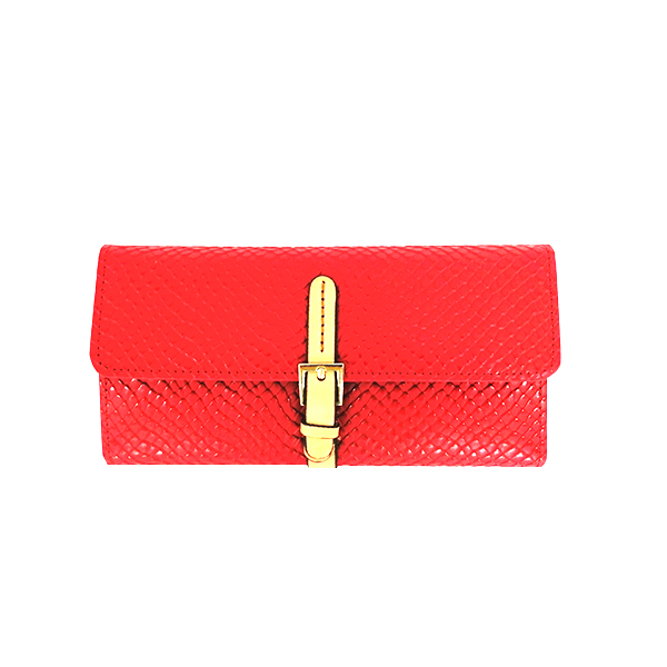 Fashion new lady long wallet with Large capacity cowhide lady Money clip