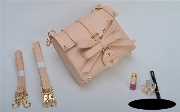 Nice Quality Fashion Bags Handbags Pink Pu Handbag From Leatherware Factory