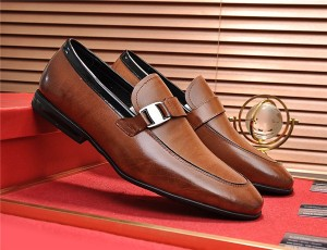 OEM Italian Luxury Business Shoes Fashion Men Formal Shoes