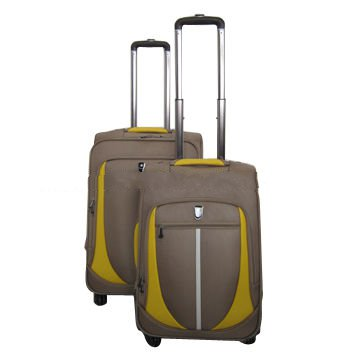 3 pieces soft EVA suitcase