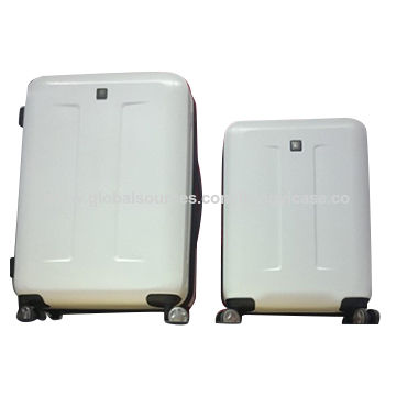 Double wheel PC luggage with trolley
