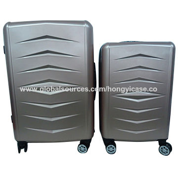 Hard shell ABS luggage with trolley