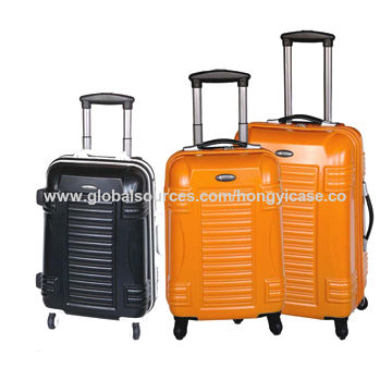 Luggage sets, made of aluminum frame, with TSA lock