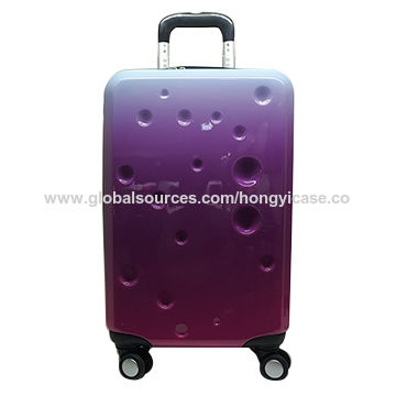 New arrival printed 20-inch trolley flight cases